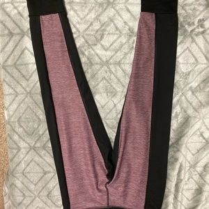 A set of leggings